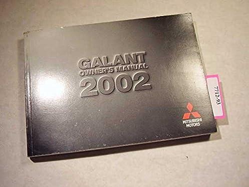 2002 mitsubishi galant owners manual mitsubishi amazon com books rh amazon com Black 2002 Mitsubishi Galant Steeri G-Wheel 2005 Mitsubishi Galant Owner's Manual