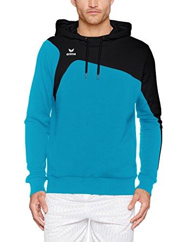 2 noir Erima 1900 Capuche À Club curaçao Turquoise shirt Homme Sweat 0 qEEPrw7