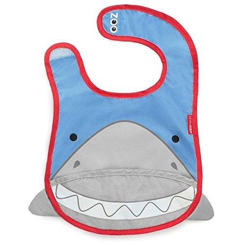 Skip Hop Zoo Tuck Away Bib, Snazzy Shark 232118