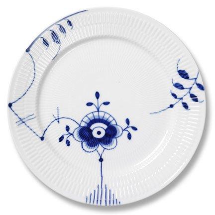 (Royal Copenhagen Blue Fluted Mega Coup Dinner Plate)