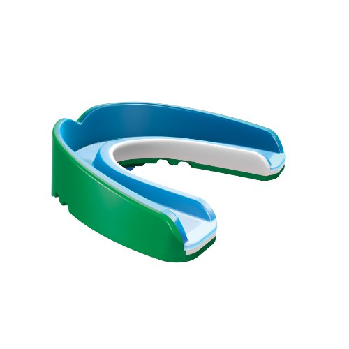 Shock Doctor Nano 3D Convertible Mouthguard (Pearl Green, (Shock Doctor Gel Nano)