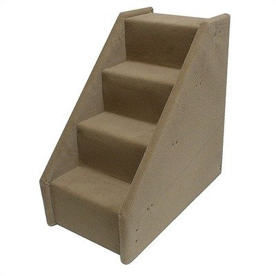 Bears Stairs Four-Step Mini Value Line Pet Stairs in Beige, My Pet Supplies