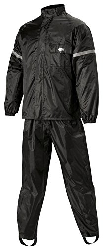 Nelson Rigg 2 Piece WeatherPro Rainsuit (Black, X-Large)