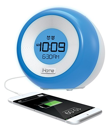ihome im29sc color changing dual alarm fm clock radio with usb charging 11street malaysia. Black Bedroom Furniture Sets. Home Design Ideas
