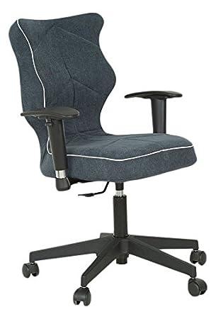 Entelo Bonne Chaise PR ASPB6GA Twist Alta Prestige Fauteuil Pour Bureau Tissu Graphite Taille 6