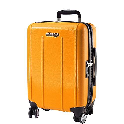 Doublewheel Caster (eBags EXO 2.0 Hardside Spinner Carry-On (Yellow))