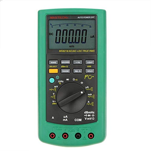 MASTECH MS8218 50000 Counts High Accuracy True RMS DMM Digital Multimeter