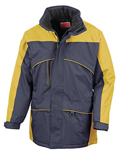 A-Seneca RT98 Hi-Activity Winter Jacket Waterproof, Windproof Navy - Yellow