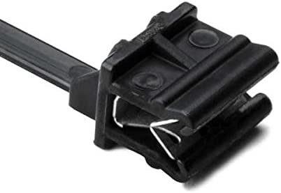 HellermannTyton 126-00000 Edge Clip Kabelbinder 5 Stück