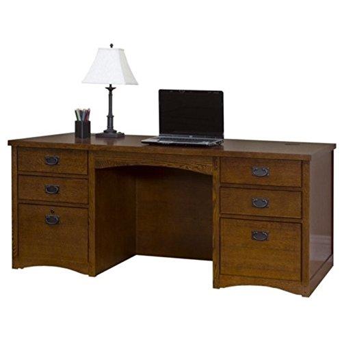 Martin Furniture MP680 Double Pedestal Executive