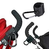 Bingo Point 2Pieces/Lot Baby Stroller Accessories Pram Hooks Hanger for Baby Car Carriage Storage Bag