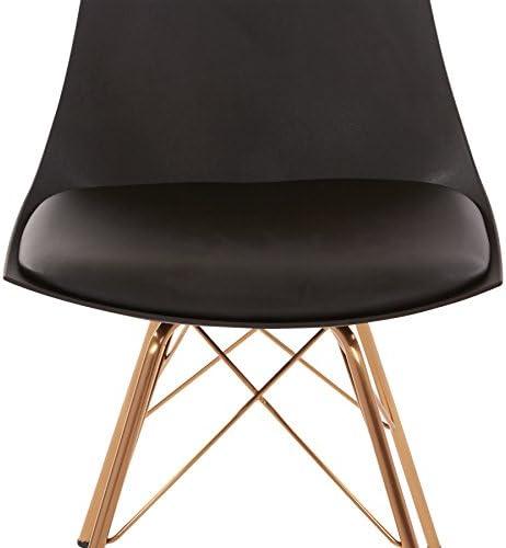 OSP Home Furnishings Oakley Mid-Century Modern Bucket Chair