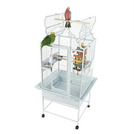 Small Victorian Top Bird Cage Color: Black, My Pet Supplies