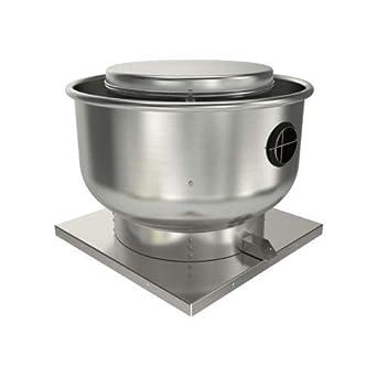 Fantech 5dduec12en roof wall fan upblast centrifugal vent for 1 3 hp attic fan motor