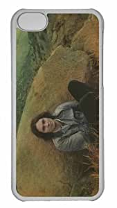 Customized iphone 5C PC Transparent Case - Washed Out Personalized Cover