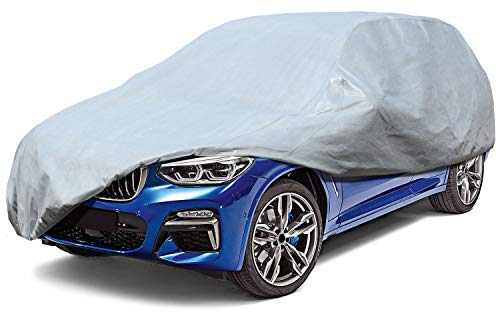 Leader Accessories SUV Cover Mid Grade 100% Dustproof UV Tree Sap Resistant Outdoor Car Cover Up to 187''