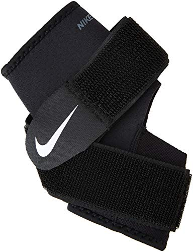 Nike Pro Combat Ankle Wrap 2.0,Large(Black/White)