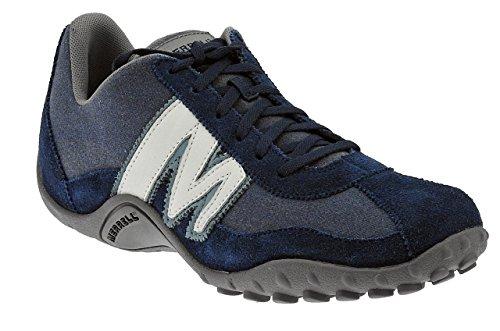 Blast Suede Blu Sprint Bleu Sneaker ltr blue mesh white Merrell Homme qS57Pw
