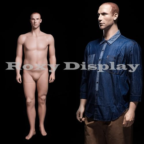 (MZ-PLUSMAN2) Realistic Male Mannequin, Mid-age looking m...