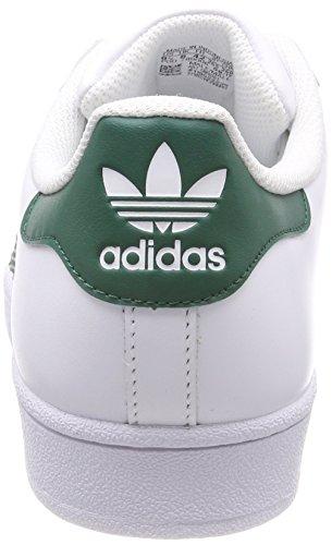 Scarpe Da Ginnastica Adidas Superstar Unisex Verde Bianco