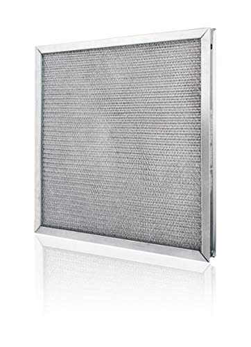 Commercial Kitchen Make Up Air (MUA) and Supply Fan Metal Mesh Air Filters- Used in Heater and Supply Fan Intakes (Two Pack of 16