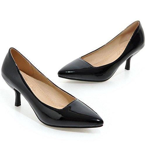 COOLCEPT Black Damen Schuhe Pumps Dress Stiletto YZwgqOxpw