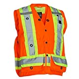 Forcefield Canada Surveyor's Vest - ORANGE - MEDIUM