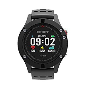 Diggro DB-05 GPS Sport Fitness Tracker Outdoor Smart Pedometer Watch Colored Display Heart Rate Monitor Altimeter Thermometer Barometric Pressure Multi-sport Mode for Android iOS by Diggro