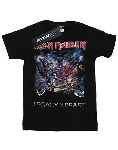 entallada Cult negra camiseta Of Absolute Camiseta Maiden The Boyfriend Woman Beast Iron Legacy gqBfnxd