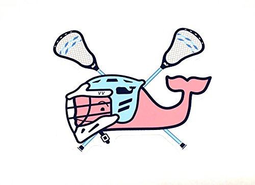 Authentic Vineyard Vines Seasonal Sports Preppy Vinyl Sticker Decal Southern Proper Sold By LOBO (LACROSSE)