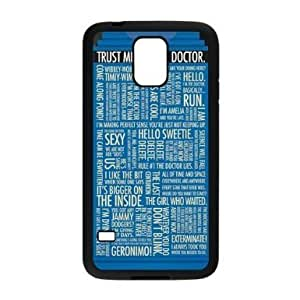 Danny Store Dr.who Quotes Protective TPU Rubber Back Fits Cover Case for Samsung Galaxy S5
