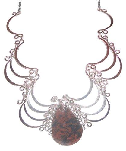 Majestic Teardrop Alpaca Necklace Medallion product image
