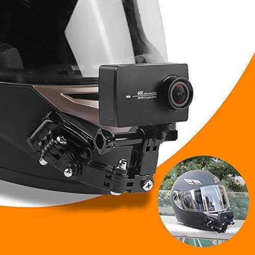 Guajave Macchina Fotografica di Azione Supporto Casco Moto Mento Supporto Stand per GOPRO