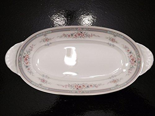 "Noritake Rothschild Celery Plate/Serving Dish 10 1/2"", Ivory, #7293"