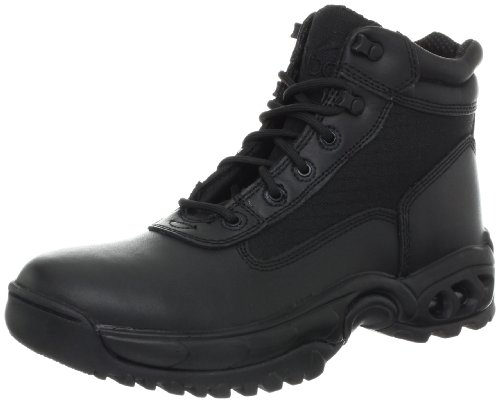 Ridge Footwear Men's Mid Side Zip Boot,Black,13 M US