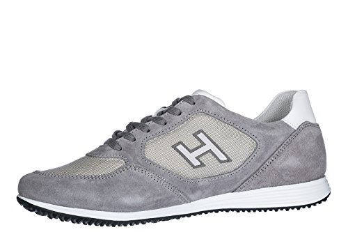 H205 Olympia Men's Sneakers Grey Hogan Suede Trainers Shoes ORqxZAw