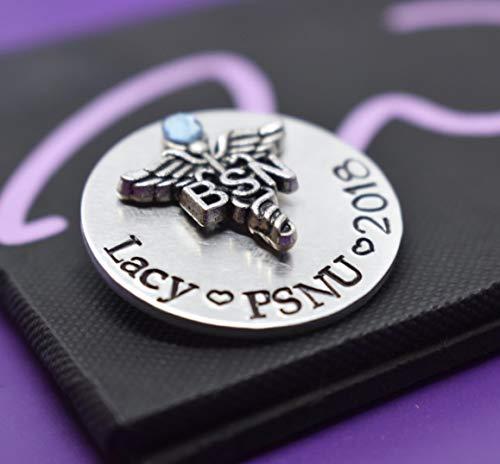 - Personalized Nurse Pinning Ceremony, Medical Profession Custom Stacked Nurse Pin, Nurse Pin, Nursing School Graduate