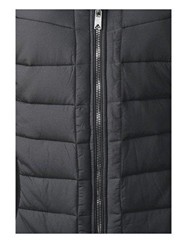 Donna One 10001 Street Cappotto black Nero RwqZxO80