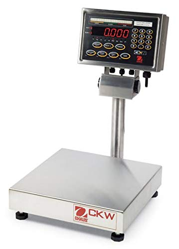 0.002lb 15lb Readability 1g Ohaus CKW6R55 CKW Washdown Checkweighing Scale Capacity 6kg
