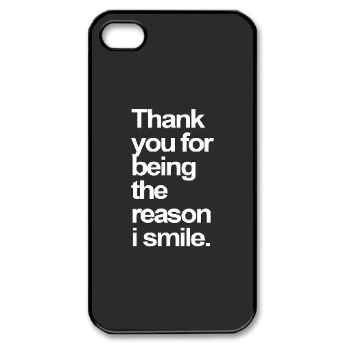 Andy iPhone 4,4s Case,Personalized Custom Christian Quotes,Unique Design Protective TPU Hard Phone Case Cover