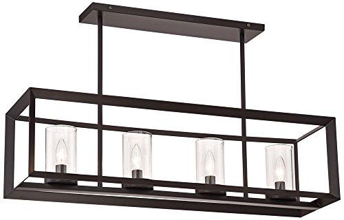 Rectangular Pendant Light Frame in Florida - 1