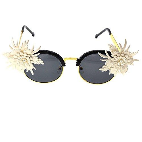 Cat'S Gafas Gafas Sol De Ojo B B JUNHONGZHANG Gafas De Simples De Sol Señoras Sol Personalizada De Lace De Gafas Gato Moda Eye dBR7PxRE