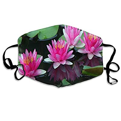 Beautiful Lotus Flower Best Hot Dust Mouth Mask Reusable Anti-Dust Face Mask Adjustable Earloop Skin Protection