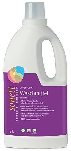 sonett Waschmittel flüssig, Lavendel 2 l