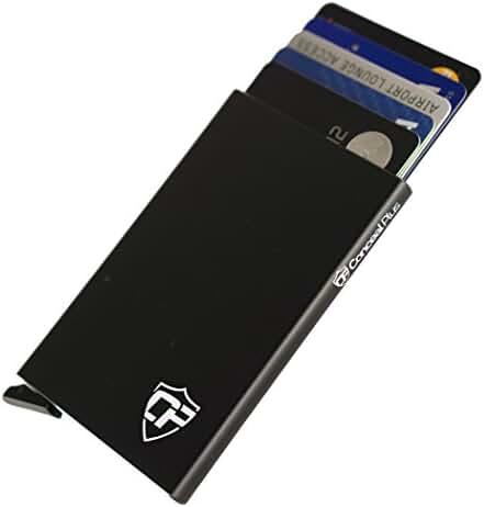 Card Blocr RFID Blocking Wallet Credit Card Holder Slim Front Pocket Design
