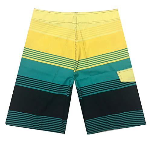[해외]남자 짧은 해변, 남성 패션 캐주얼 패치 워크 비치 서핑 수영 느슨한 짧은 바지 / Man Short Beach,Men`s Fashion Casual Patchwork Beach Surfing Swimming Loose Short Pants