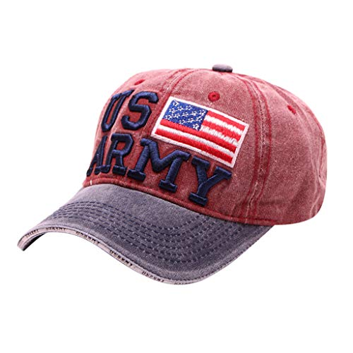 Toponly Baseball Caps, American Flag Hats,Military Hats,Dad-Hats for Independence Day Father's Day,Thanksgiving Gift ()