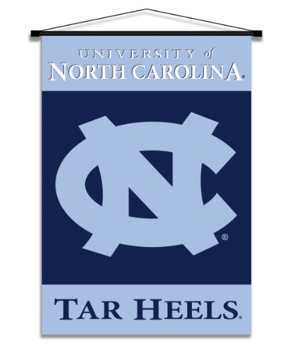 NCAA North Carolina Tar Heels Indoor Banner Scroll