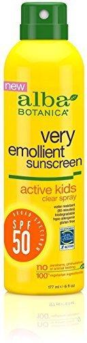 Alba Botanica Sunscreen Kids Spf 50 Clr by Alba Botanica by Alba Botanica