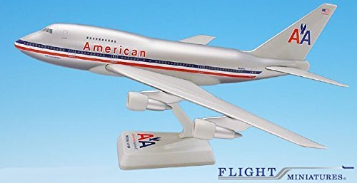 American (70-13) 747SP Airplane Miniature Model Plastic Snap-Fit 1:200 Part#ABO-747SPH-001 (Model Airplane Parts compare prices)